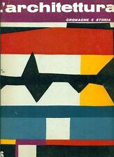L'ARCHITETTURA. Cronache e storia. Direttore Bruno Zevi. 1963, N.96