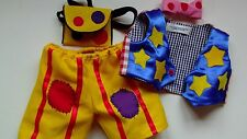 mr  tumble outfit to fit build a bear mr tumble waistcoat trousers tie & bag