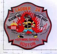 Massachusetts - Boston Ladder 24 MA Fire Dept Patch