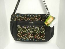 Frizzi Global Kecci Child Care Bag Black With Floral Design New !!!!