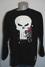 Ecko Punisher shirt XL tee Marvel Comics long sleeve black Rhino Marc skull logo