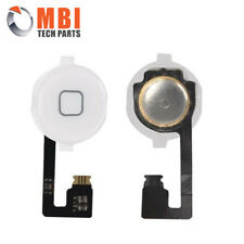 iPhone 4 4G White New Replacement Home Button Ribbon + Flex Cable