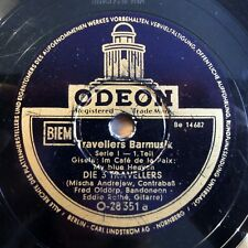 """Travellers Barmusik - Serie I - Odeon - /10"""" 78 RPM"""
