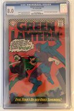GREEN LANTERN #44 - CGC 8.0 - OFF WHITE/WHITE PAGES