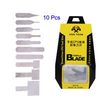 10pcs Logic Board IC Chip Repair Thin Blade CPU Remover Mainboard Repair Tools