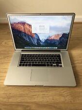 Macbook Pro 17inch, Core i7, 2011