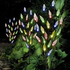Multi Coloured Solar Outdoor Garden Ornamental Stylish Branch Tree Led Lights