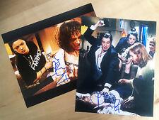 BRONAGH GALLAGHER 2 SIGNED 10x8 PHOTOS as Trudi in PULP FICTION Tarantino