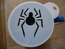 Découpe Laser Spider Design Café et Craft pochoir