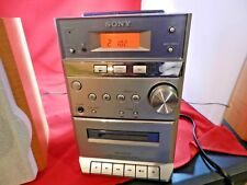 SONY Micro Hi-Fi Stereo System CMT-EP313 AM/FM Radio Cassette CD  No Remote