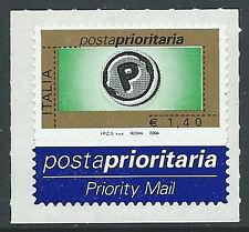 2004 ITALIA POSTA PRIORITARIA 1,40 EURO TIPOGRAFICA MNH ** - ED2