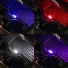 1x Flexible Mini USB LED Light Lamp For Car Atmosphere Colorful Lamp Accessories