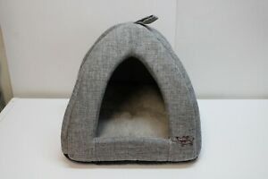 Best Pet Supplies Corduroy Tent Bed for Dogs or Cats