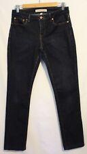 COUNTRY ROAD ~ Super Dark Blue Wash Stretch Skinny Jeans 8 Hemmed/Short