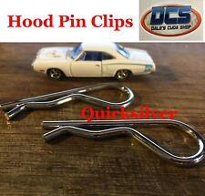 1969 1974 Dodge Plymouth Hood Pin Clips NEW MoPar