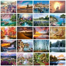 Painting By Numbers Kits Includes Oil Acrylic Paints Brush 21 Designs Frameless