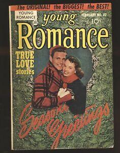 Young Romance Comics # 42 - Simon & Kirby art VG Cond.
