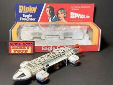 1974 Dinky Toys 360 Gerry Anderson SPACE 1999 EAGLE FREIGHTER +Repro Window Box