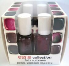 essie FALL 4pc Mini Cube Nail Polish Set ~ TWILL LACE CASHMERE VESTED .16 oz NIB