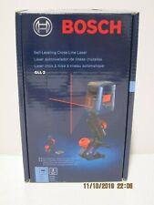Bosch GLL2 Self-Leveling Cross Line Laser W/Flexible Mount- FREE PRI-SHIP NISB!!