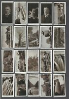 1928 Lambert & Butler Rhodesian Series Tobacco Cards Complete Set of 25