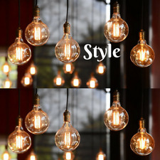 10 x 40W ORB G125 Filament Light Bulb ES E27 Edison Screw Globe