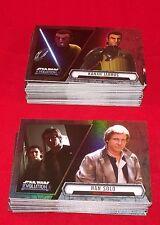 Star Wars EVOLUTION    Complete Base Trading Card Set    Topps 2016