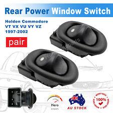 Pair Rear Window Power Switch LH+RH For Holden Commodore VT VX VU VY VZ 5 pins
