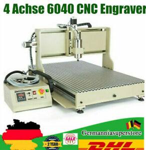 4 Achse 6040 CNC USB  Fräsmaschine Router Engraver + VFD Graviermaschine 1500W