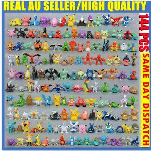 144pcs Pokemon Monster Mini Figure 2-3cm Action Figures in Cute Toys (AU STOCK)
