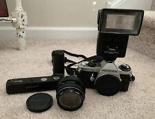 Pentax ME Super Camera w/ Pentax-M 50mm f/1.2 Len & Pentax Winder ME II