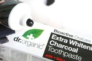 Dr. Organic Bio-Activ Charcoal extra-whitening antioxidant toothpaste 100ML
