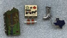 MISC. LIONS PINS, Oregon 36, North Surrey, Dallas Texas