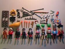 Playmobil VINTAGE Lot of 108+ PIRATES Playset Parts/Figures/Catalog/Instructions