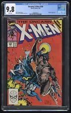 Uncanny X-Men #258 CGC 9.8 NM+/MT (Marvel 2/90) Jim Lee art, Claremont story