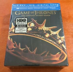 Game of Thrones The Complete Second Season Blu-ray Emilia Clarke  Peter Dinklage