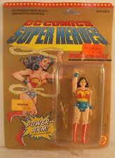 "DC Superheroes By Toy Biz - 5"" Wonder Woman With Lasso Power Arm Action (MOC)"