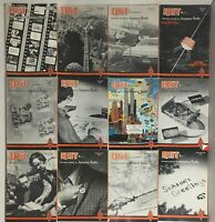 Lot of 12 Complete January to December 1974 QST Amateur Radio Volume 1-12