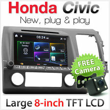 Car DVD Player For Honda Civic FD1 FD2 Stereo USB MP3 Radio Head Unit ozproz