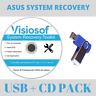 ASUS System Recovery Boot Repair Reset Restore DVD USB Windows 10 8 7 XP VISTA