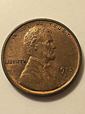 1915-D Lincoln Wheat Cent BU #655