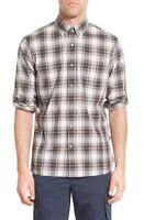 * NWT John Varvatos Trim Fit Plaid Sport Shirt NWT, XL, 2XL XXL