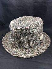 6055bc8b8b9d5 LL Bean Tweed Wool Hat 7 1 8 David Hanna   Sons 100% Wool Donegal