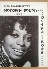 DIANA ROSS 'Motown leader' magazine PHOTO/Poster/clipping 10x8 inches