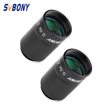 """2Pcs New Telescope 1.25"""" 0.5x Focal Reducer with C-Mount Adapter to CCD Camera"""