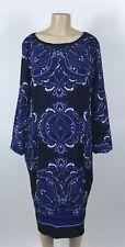 B46 Women's INC International Concepts Blue Shift Dress Plus Size 2X NEW