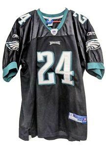 Philadelphia Eagles NNAMDI ASOMUGHA 24 Jersey Reebok Authentic sz 52 NFL