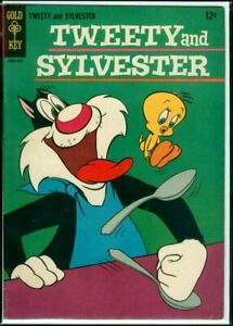 Gold Key Comics TWEETY And SYLVESTER #2 FN+ 6.5