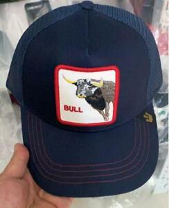 Goorin Bros  Baseball Cap Trucker Snapback Hat Adjustable Animal  bull