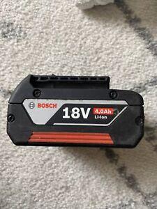 Bosch 18v 4.0ah Power Tool Battery
